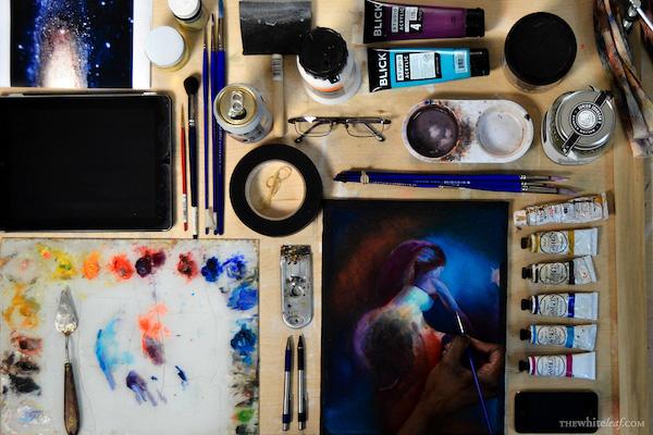 Tristan Henry-Wilson's Studio