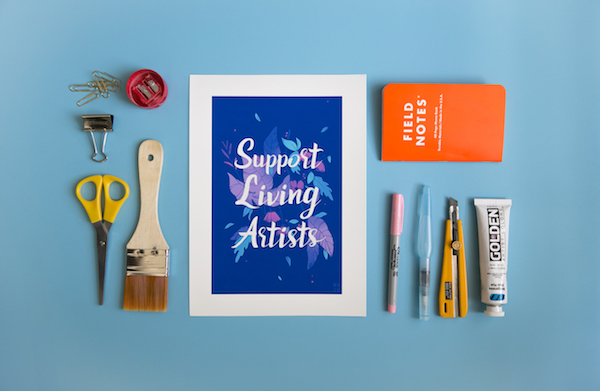 Support Living Artists by Samantha Mash