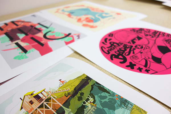 Example of art prints by INPRNT